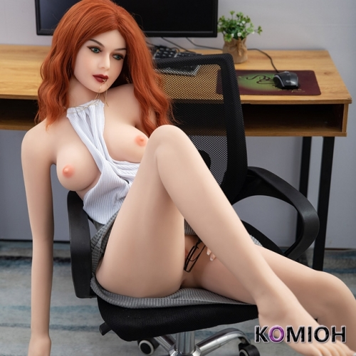 15709 Komioh 157cm red hair sexy small breast sex doll